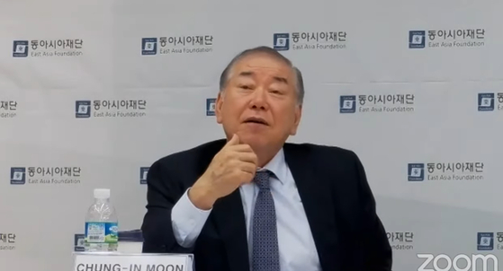 문정인 주한미군 점진적 감축, 비핵화 협상카드 활용 가능