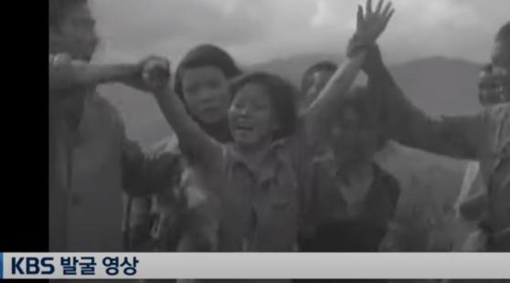 어리둥절하다 만세 외쳤다···만삭의 위안부 구출 영상 공개