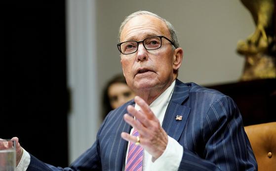 래리 커들로 백악관 국가경제위원장은 28일 CNBC 방송에