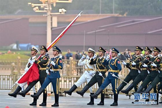 중국 인민해방군. 신화망 캠처