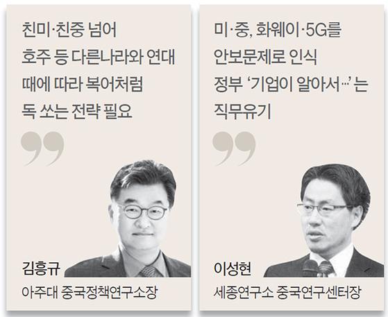 """""""한국, 미·중 양쪽서 바람둥이 낙인찍혀…독 품은 복어 전략을"""""""
