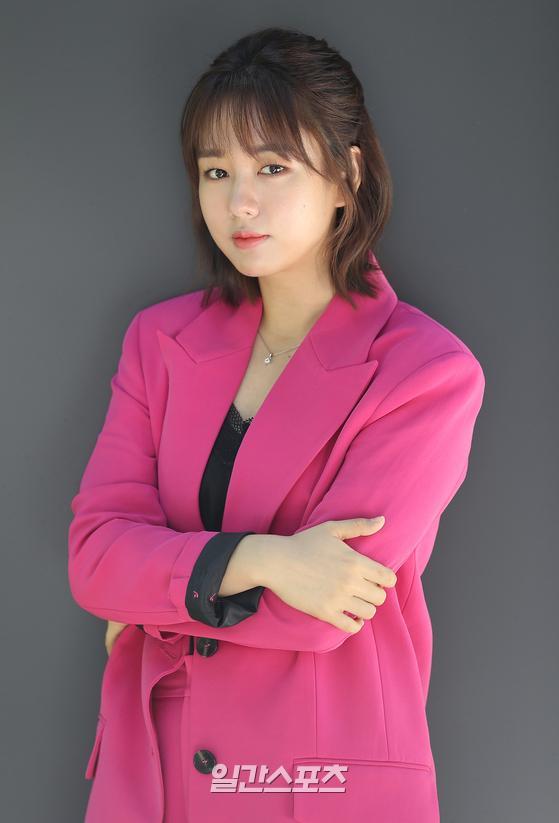 tvN 드라마 '슬기로운 의사생활'의 배우 안은진이 1일 오전 서울 마포구 상암동 JTBC에서 일간스포츠와 인터뷰를 가졌다.박세완 기자 park.sewan@jtbc.co.kr / 2020.06.01/