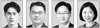 서원용, 박성만, 최환석, 김정은(왼쪽부터)