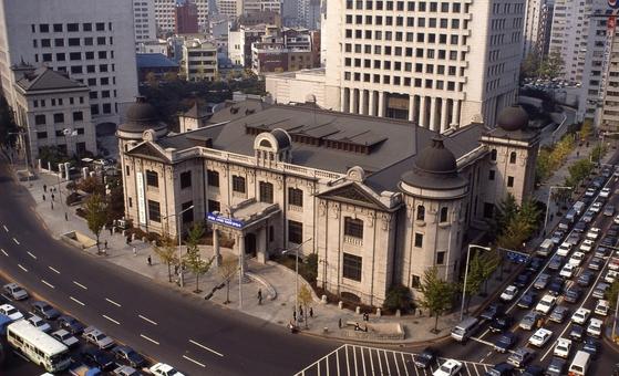 한국은행 전경. 중앙포토
