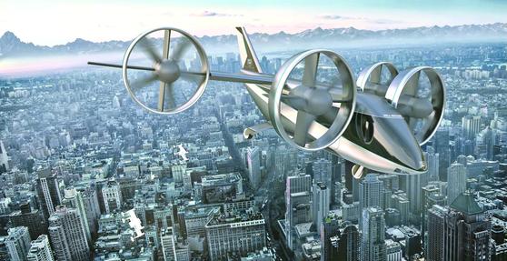 세계적으로 '하늘을 나는 자동차 시대'가 현실화될 전망이다. UAM 분야에서 가장 앞서 있는 벨 넥서스는 2025년 상용화를 선언했다. 벨 넥서스.