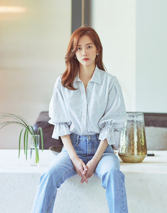 tvN 목요극 '슬기로운 의사생활'에서 장겨울을 연기한 배우 신현빈
