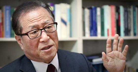 정세현 민주평화통일자문회의(민주평통) 수석부의장. 뉴스1