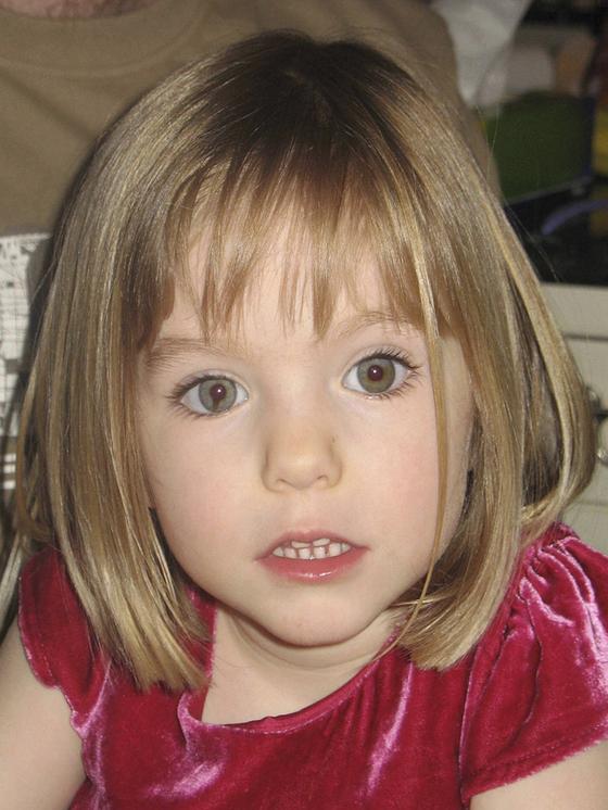 2007년 포루투갈에 가족 여행을 갔다가 사라진 메들린 매칸(당시 3세). 사건의 유력 용의자가 13년 만에 독일에서 붙잡혔다. [AP=연합뉴스]