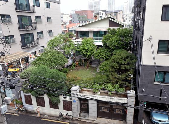 서울 마포구에 위치한 위안부 피해자 할머니들의 쉼터 '평화의 우리집'의 모습. 뉴스1