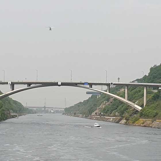 7일 인천 경인아라뱃길에서 시신 일부가 또 발견됐다. 계양경찰서 제공