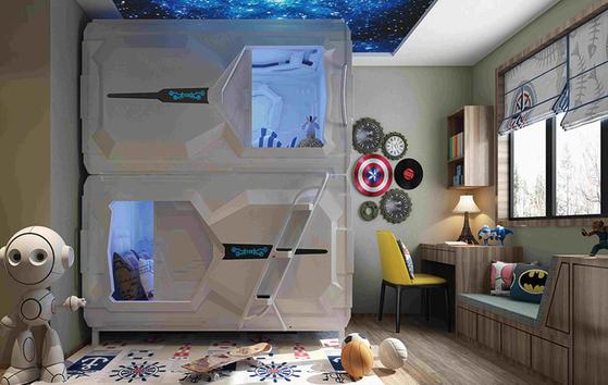 롯데백화점에 설치된 수면 캡슐. 일정량의 산소를 발생시켜 최적의 수면 조건을 제공한다. 사진 롯데쇼핑