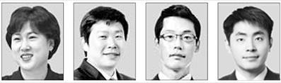 김은미, 박창운, 허혁재, 이현종(왼쪽부터).