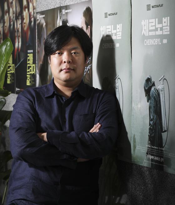 왓챠 박태훈 대표 인터뷰가 8일 서울 강남구 사무실에서 열렸다. 임현동 기자