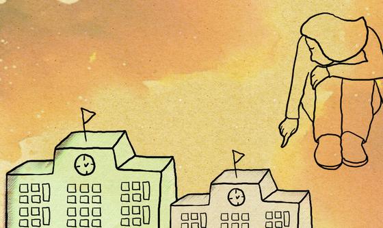 한국청소년상담복지개발원이 학교 밖 청소년도 수시전형에 지원할 수 있도록 학교생활기록부를 청소년생활기록부로 대체 하는 지원 사업을 추진한다. [일러스트=박향미][천안아산]