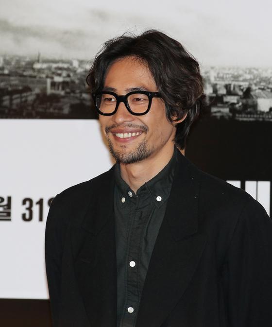 2013년 형 류승완 감독이 연출한 영화 '베를린' 시사회 당시 배우 류승범.