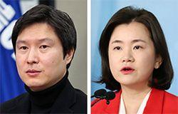 김해영(左), 신보라(右)