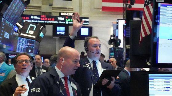 NYSE 트레이딩 플로어(자료 사진)