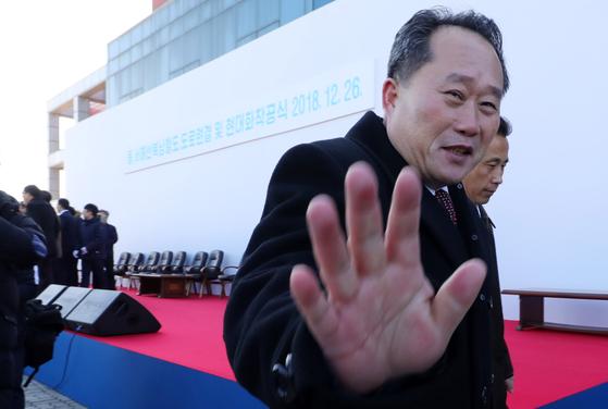 북한 리선권 조국평화통일위원장 자료사진. 뉴스1