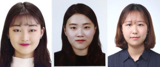 [왼쪽부터 서울여자대학교 정보보호학과 3학년 김지원, 김현정, 심민선]