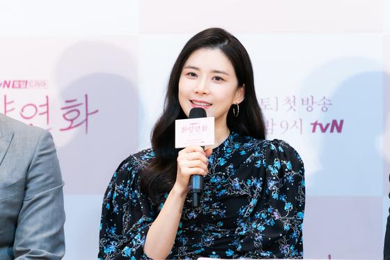 tvN 토일극 '화양연화 - 삶이 꽃이 되는 순간' 제작발표회에서 이보영