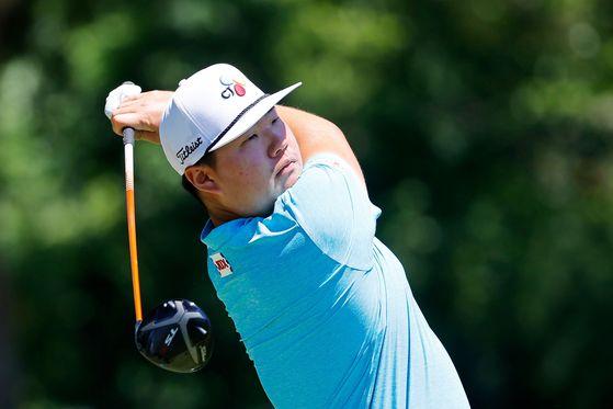 PGA 투어 찰스 슈와브 챌린지에서 톱10에 오른 임성재. [AFP=연합뉴스]