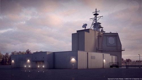 미군이 루마니아에 설치한 육상배치형 탄도미사일 요격체계인 이지스 어쇼어. 일본은 2023년까지 이지스 어쇼어 2기를 도입할 계획이었지만, 15일 돌연 중단 계획을 발표했다. [CSIS]