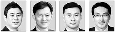 김남수, 이동현, 백찬현, 최용준(왼쪽부터)