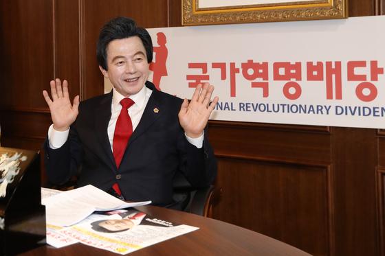 허경영 국가혁명당 대표. [뉴스1]