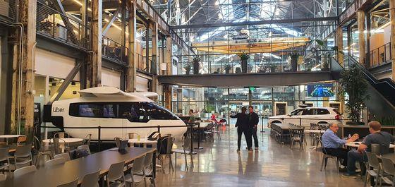 미국 샌프란시스코에 있는 우버 엘리베이트는 오래된 선박 부품 제조 공장을 리모델링해 사용 중이다. 박민제 기자