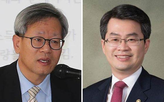 김유찬(左), 박형수(右)