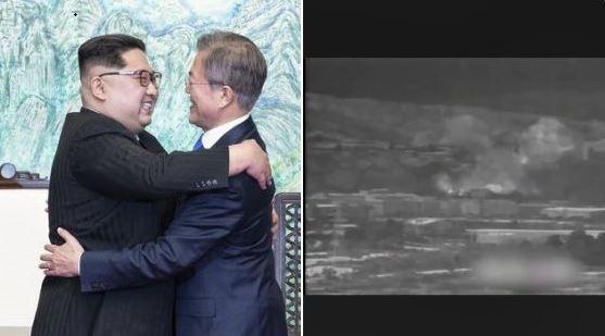 블룸버그통신 소속 기자가 자신의 트윗에 올린 사진. 트위터 캡처