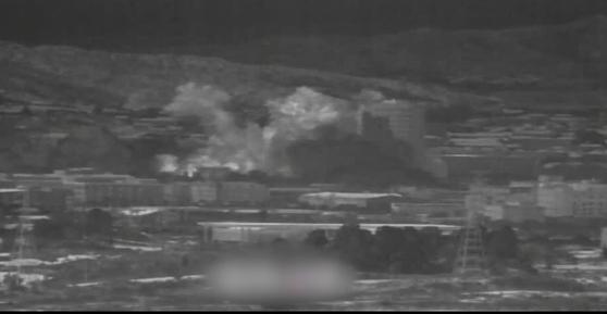 개성공단 연락사무소 폭파. 국방부 제공