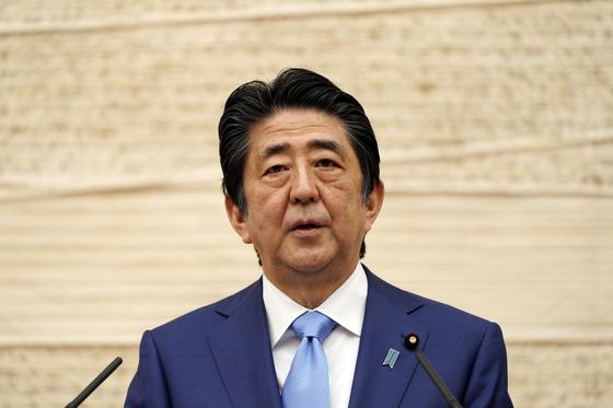 아베신조 일본 총리. [AP]