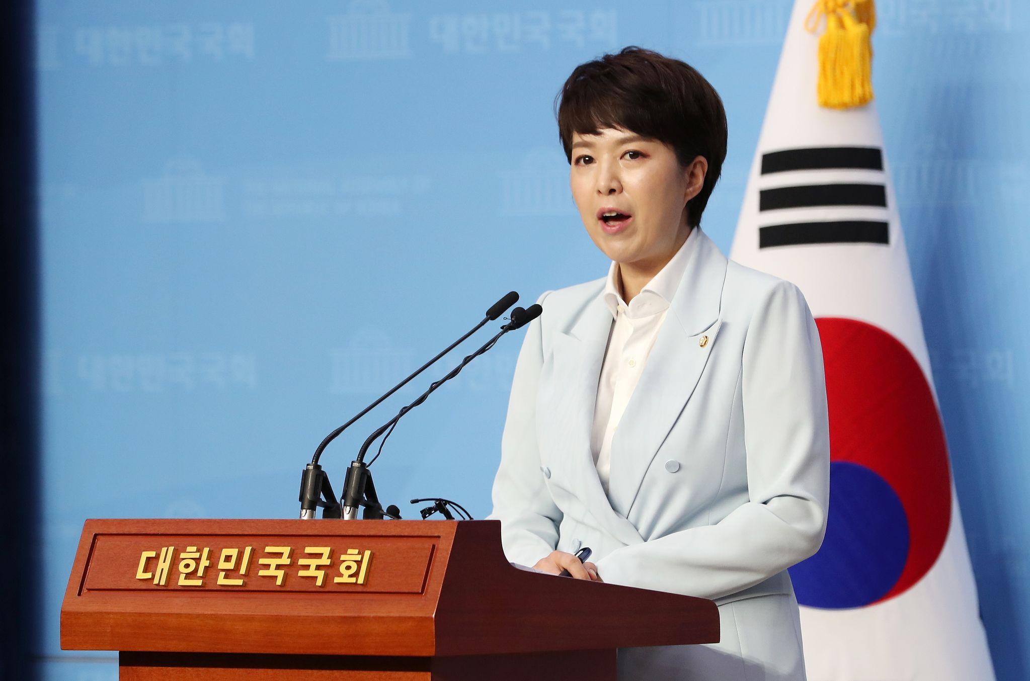 김은혜 미래통합당 대변인. 뉴스1