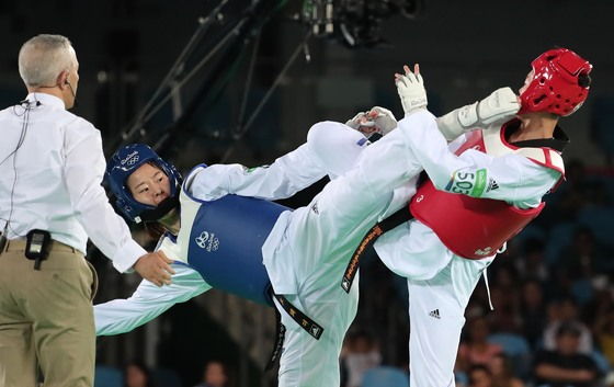 리우올림픽에서 태권도는 혁신적이고 모범적인 경기 운영으로 찬사를 받았다. [올림픽사진공동취재단]