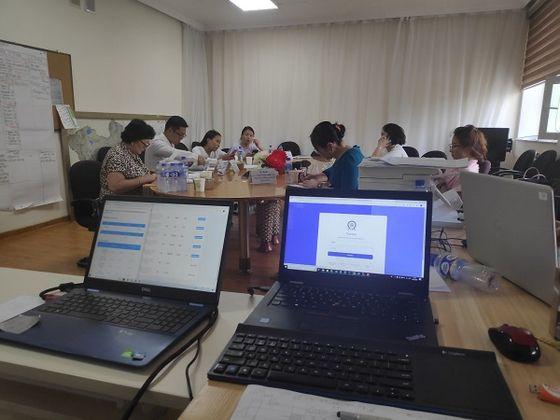 사진: 몽골 보건개발센터(Center for health development) 울란바토르 시험 운영본부 전경