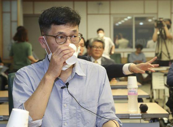 진중권 전 동양대 교수. 임현동 기자