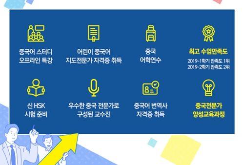 교수와 1대1로 '중국어 스터디'…서울디지털대 중국학과 신·편입생 모집