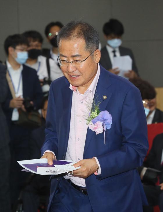 무소속 홍준표 의원. 연합뉴스