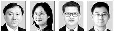 김재언, 김윤정, 강신창, 허현(왼쪽부터)