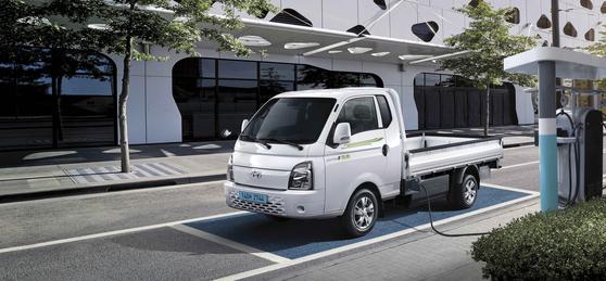 현대차의 1t 전기 트럭 포터2. 사진 현대차
