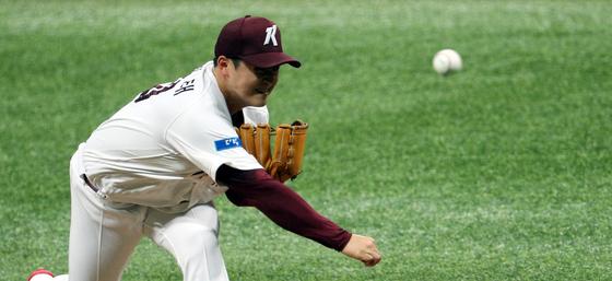 28일 고척 KIA전에서 시즌 4승을 따낸 키움 투수 최원태. [뉴스1]
