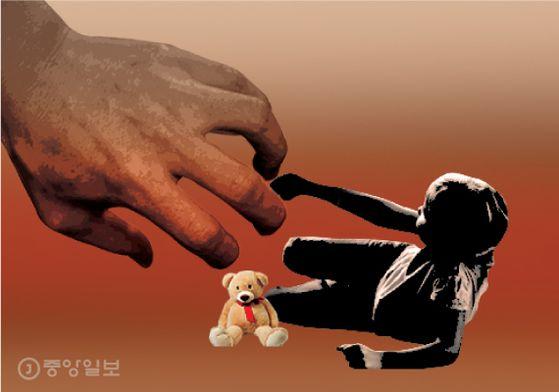 아동학대 그래픽. 중앙포토