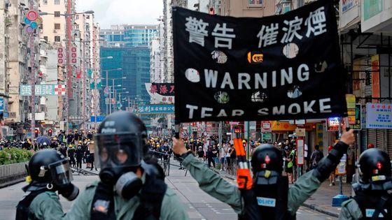 홍콩 민주화 시위. 로이터=연합뉴스