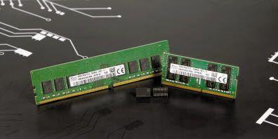 SK하이닉스는 지난해 10월에 3세대 10나노급(1z) 미세공정을 적용한 16Gbit DDR4 D램을 개발하는 데 성공했다. 단일 칩 기준으로 업계 최대 용량인 16Gb를 구현했다. [사진 SK하이닉스]