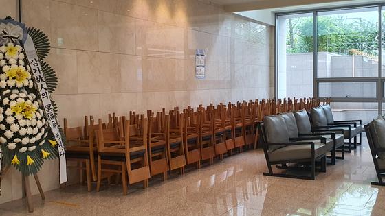 상조업체 중 폐업하더라도 가입자에게 납입금 전액을 환급할 여력이 있는 곳은 27개로 나타났다. 사진은 경기도 수원시의 한 장례식장의 모습. 연합뉴스