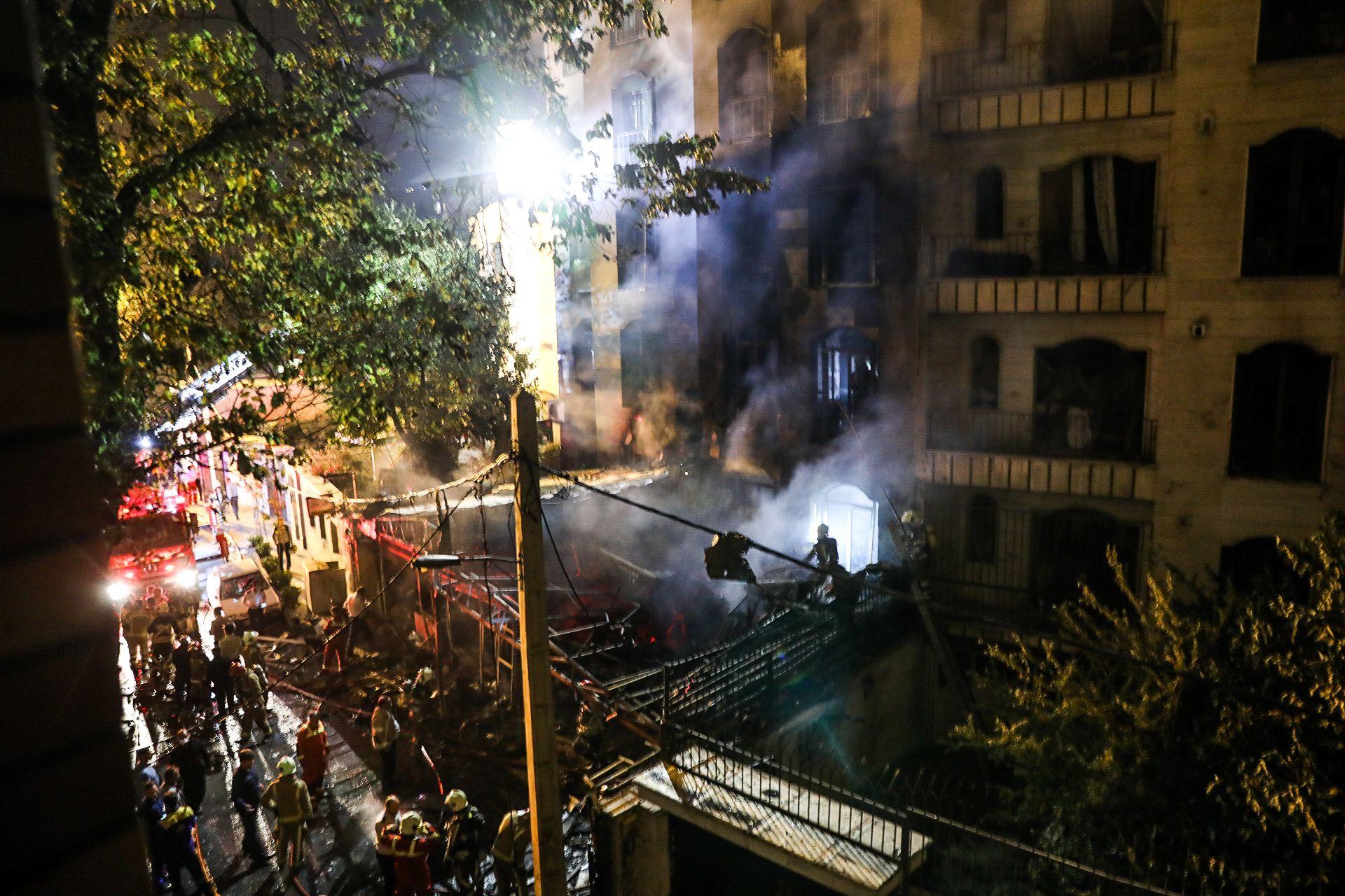 이란 테헤란 보건소서 폭발 사고…최소 19명 사망