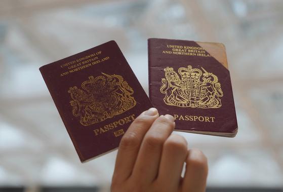영국해외시민 여권. AP통신=연합뉴스