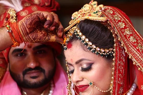 사진은 인도의 전통 결혼식 모습. 기사와는 관련 없음. [사진 pixabay]
