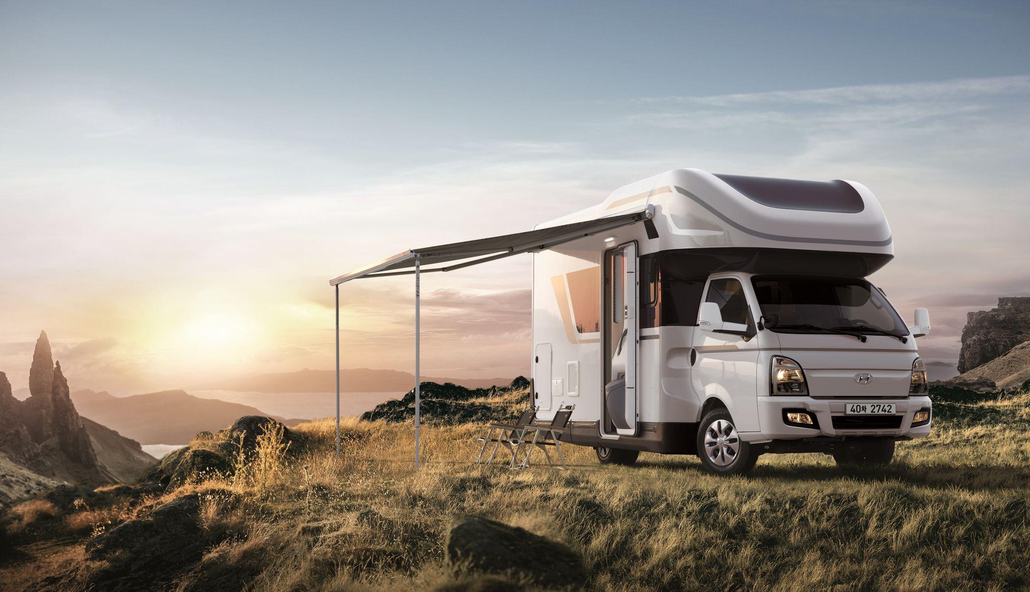 현대차 포터2 기반 캠핑카 포레스트. 사진 현대차